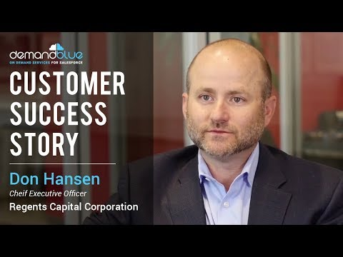 Regents Capital Corporation : DemandBlue Customer Success Story