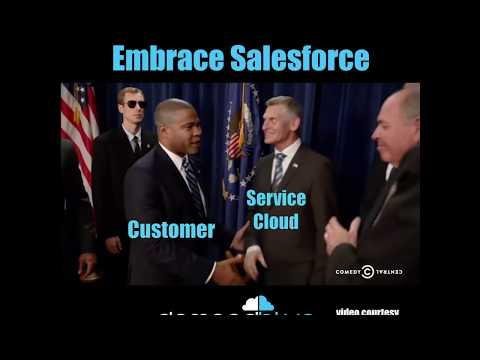 How we think customers embrace different Salesforce products! 😄