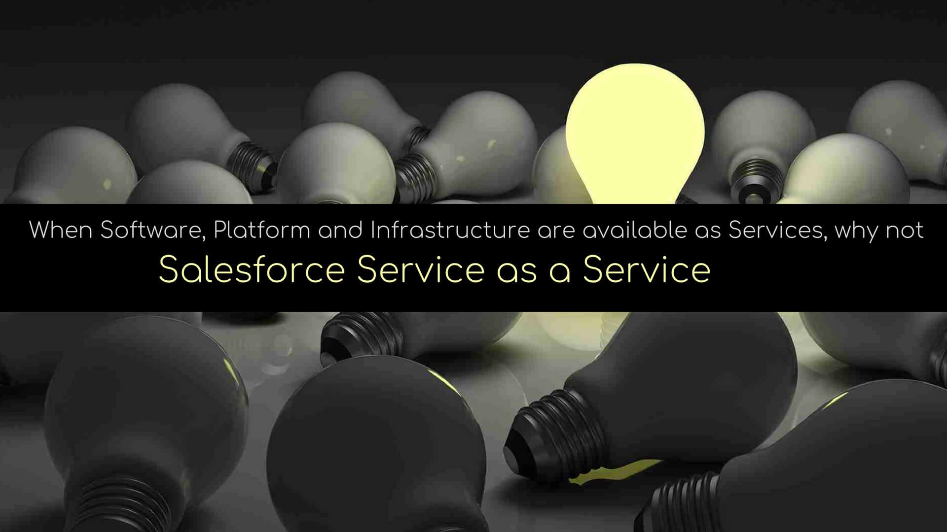 DemandBlue ON DEMAND Services – Salesforce