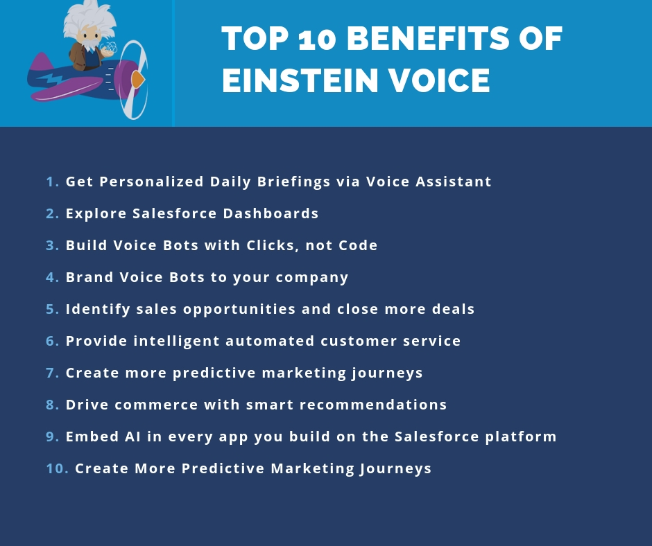 Salesforce Einstein Voice Benefits