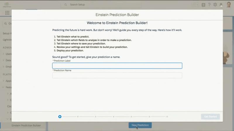 Salesforce Einstein AI