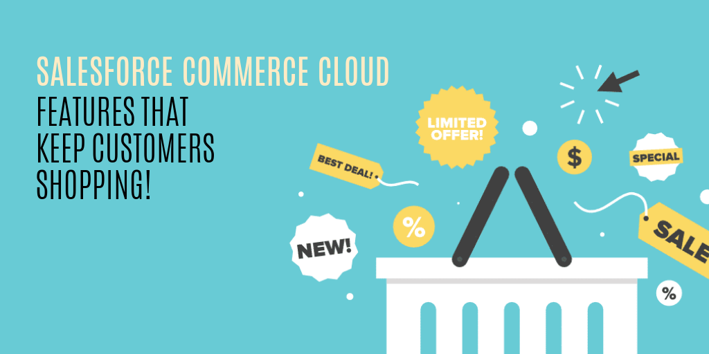 Salesforce commerce cloud features