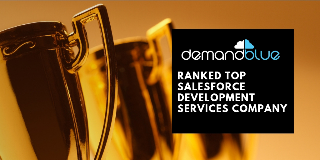 DemandBlue ranked among Top Salesforce Development Services Companies by Goodfirms