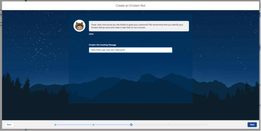 Salesforce Einstein Chatbot