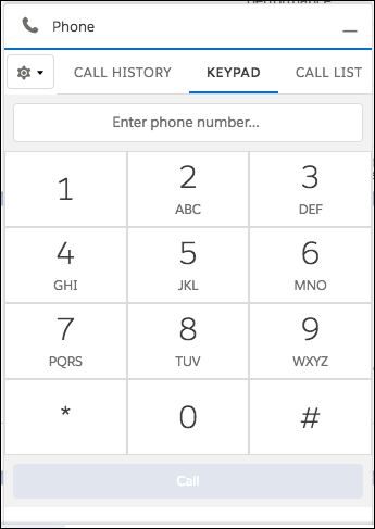 Salesforce Lightning Dialer