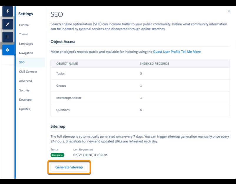 Salesforce Community Cloud Summer '20 features