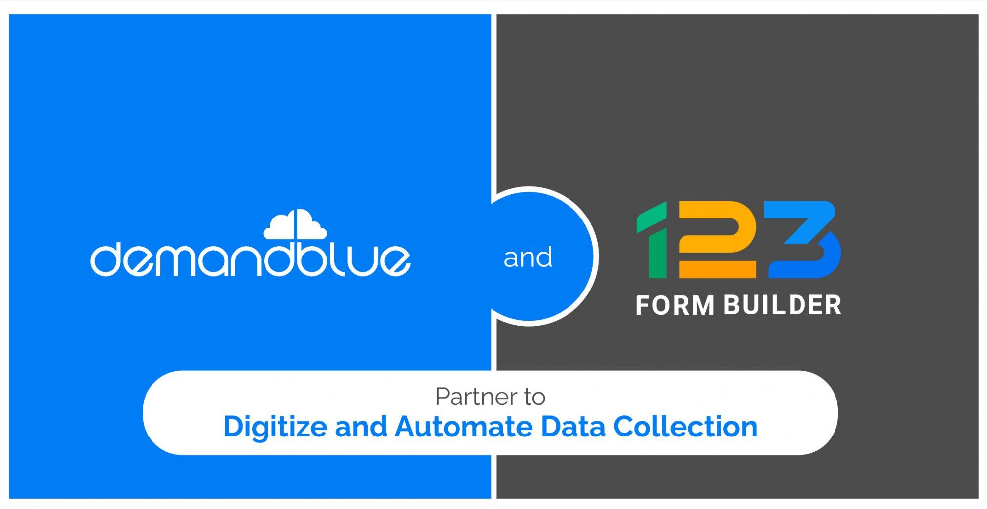 DemandBlue announces its partnership with 123FormBuilder