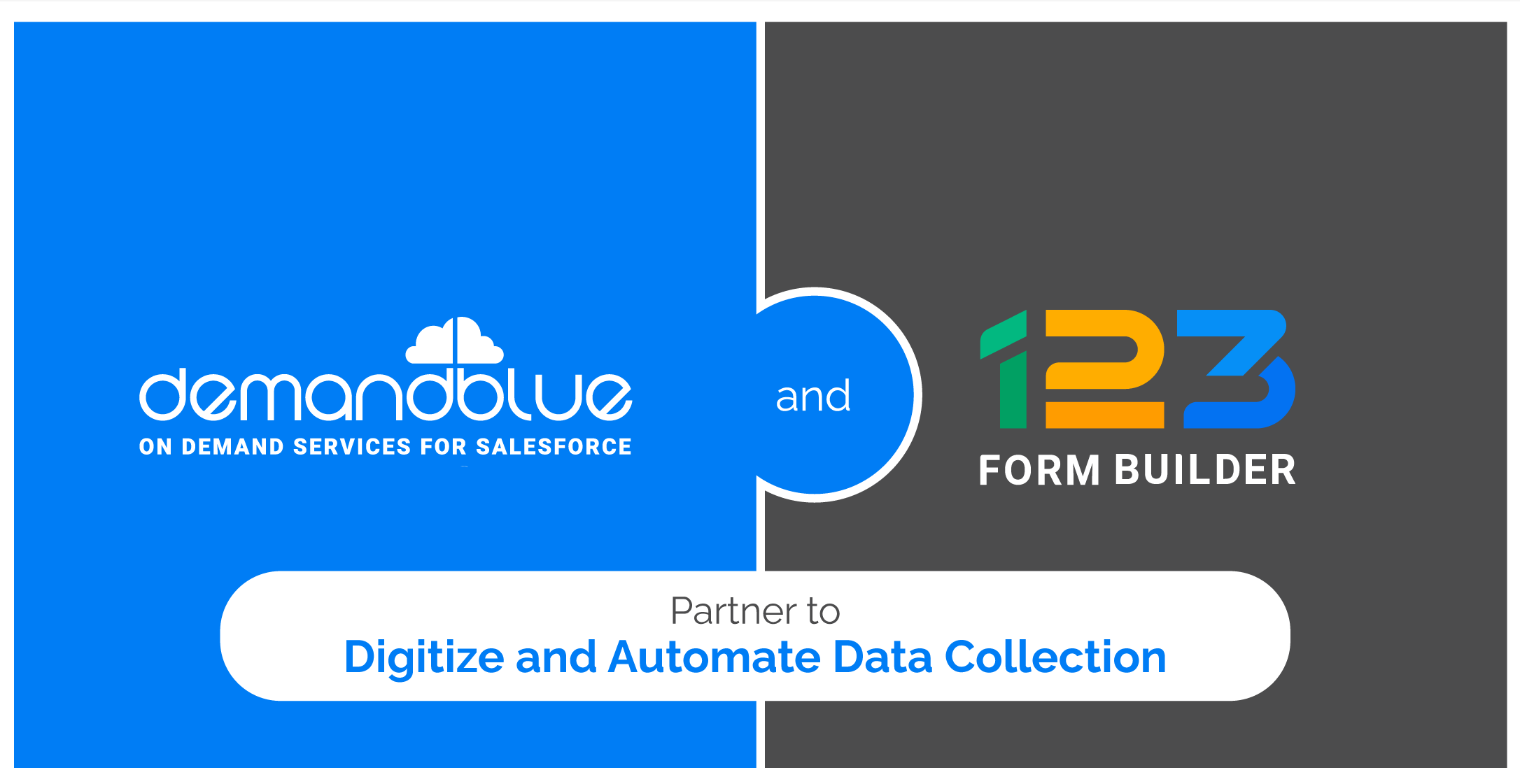 DemandBlue announces its partnership with 123FormBuilder