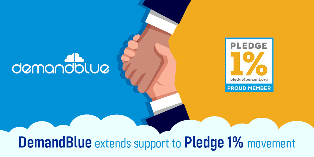 DemandBlue Joins the Pledge 1% Movement, Makes Commitment to Integrated Philanthropy