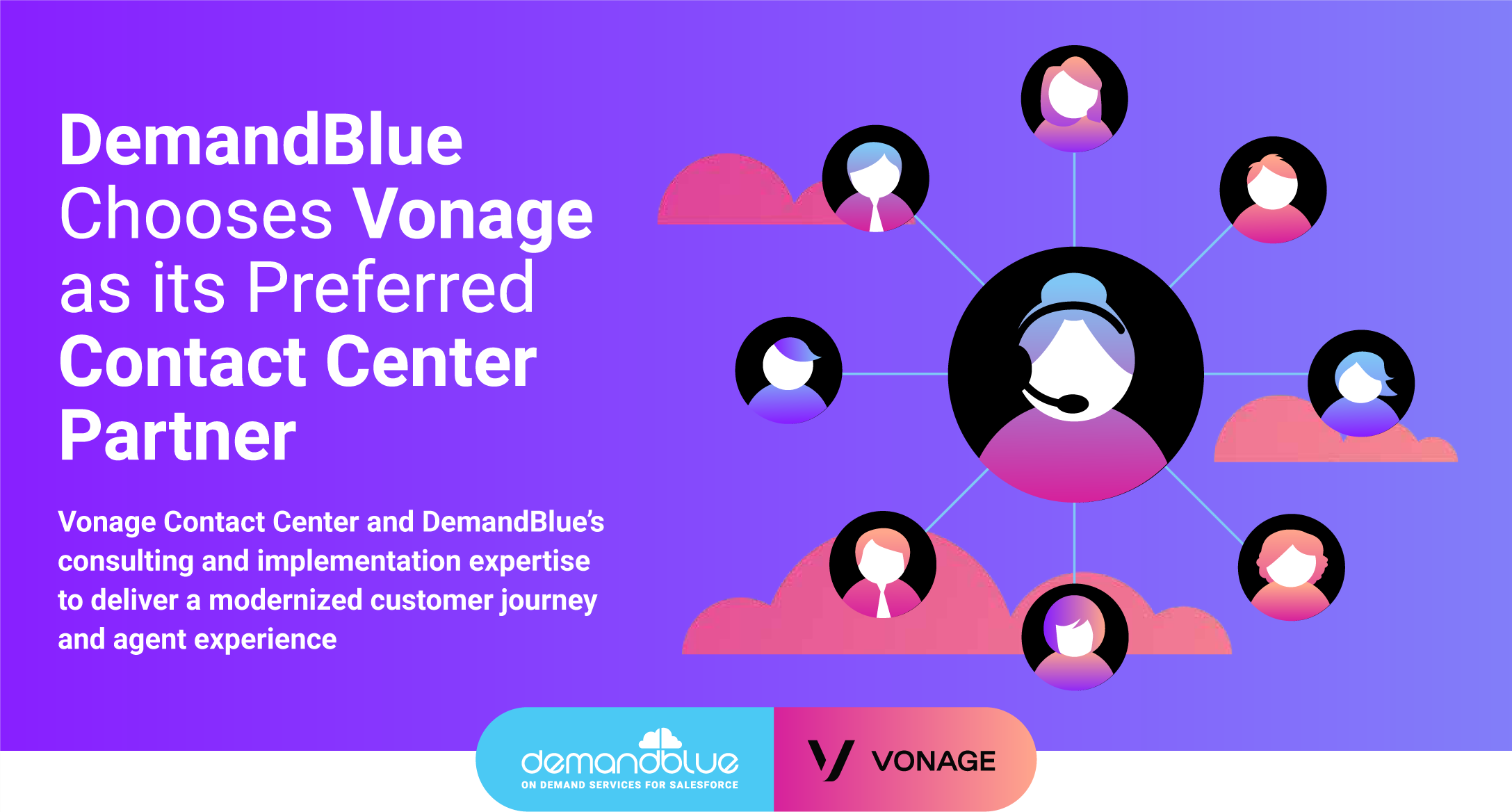 DemandBlue Chooses Vonage as its Preferred Contact Center Partner