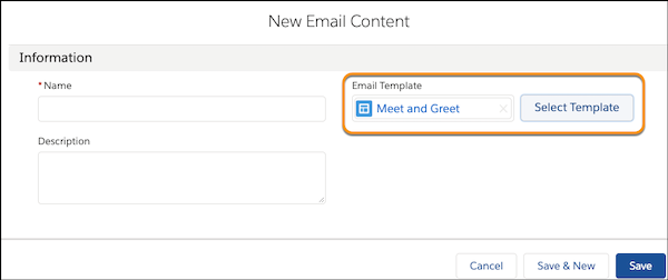Emailing with New Lightning Content Builder